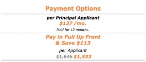 Citizenship - Payment Options